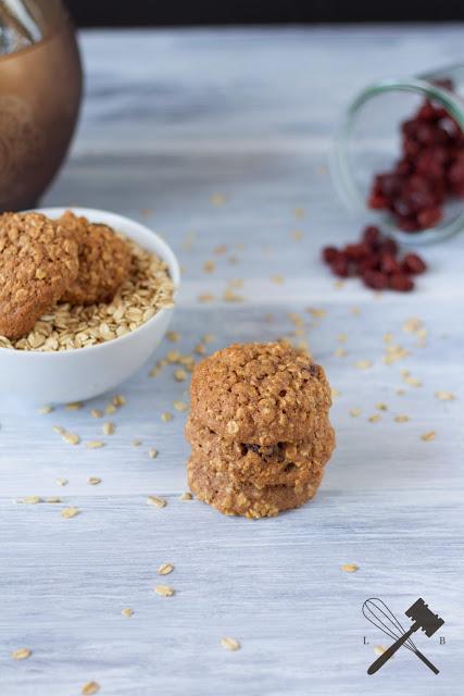 Hafer Cranberry Cookies