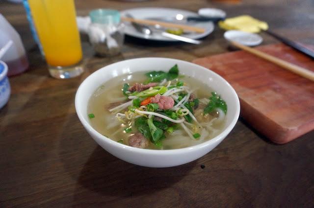 Pho Bo Ha Noi - Vietnamesische Nudelsuppe Hanoi Style