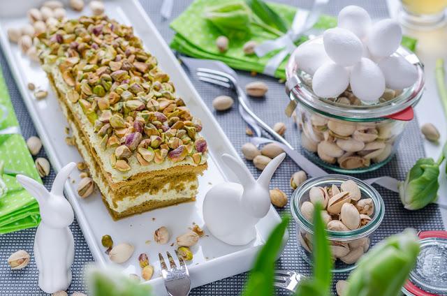 Pistazien-Grüner-Tee-Kuchen