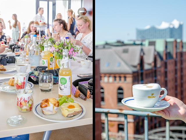 #TchiboFrisch Blogger-Frühstück über den Dächern Hamburgs