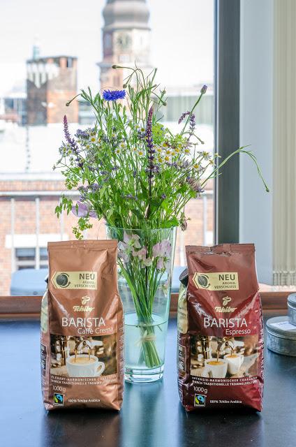 Die neuen Barista Kaffee-Sorten von Tchibo