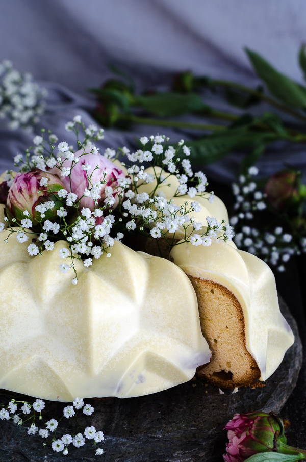 Cream Cheese Pound Cake mit perfekter Schokoladen Glasur