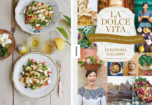 Dinkelreissalat mit gegrillten Hähnchenstreifen, Zucchini & Ziegenkäse Rezept nach Eleonora Galasso