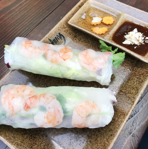 Hamburg Tipp Restaurant Garduong vietnamesisches Restaurant vietnamesische Sommerrollen
